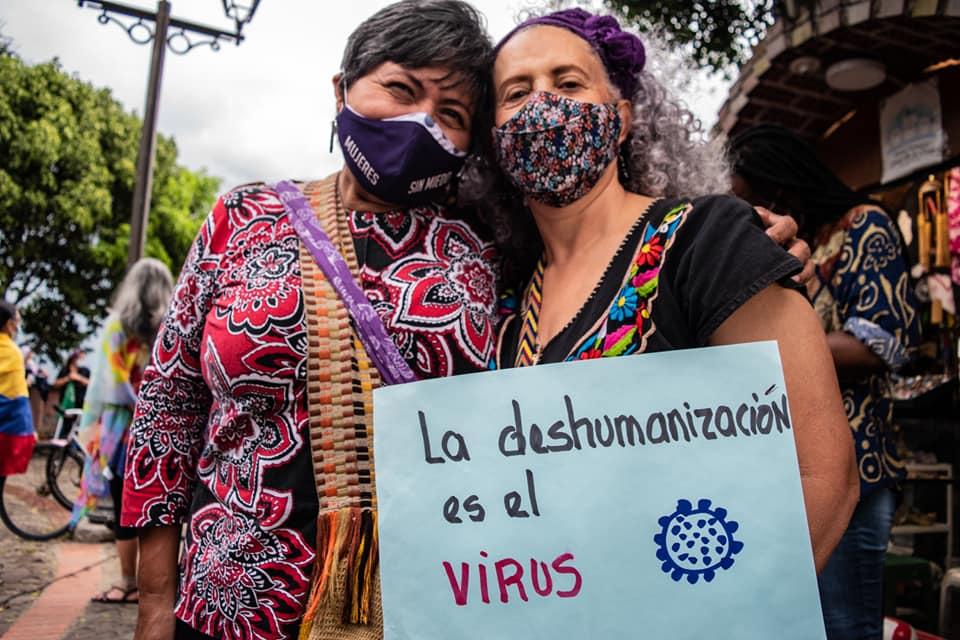 Avhumanisering är viruset